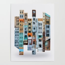 NEW-YORK PATCHWORK Poster