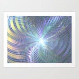 fractal: beginning Art Print