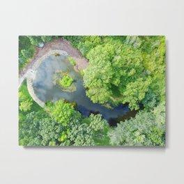 Water Overlook Metal Print