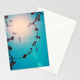 DRIFTING IN AND OUT Stationery Cards