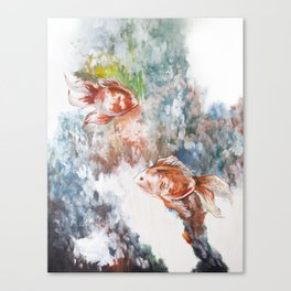 Fish Flow Canvas Print