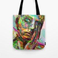 archan nair Tote Bags featuring Drift by Archan Nair