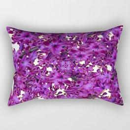 """""""Purple Hyacinth"""" Garden Queen Floras Rectangular Pillow"""