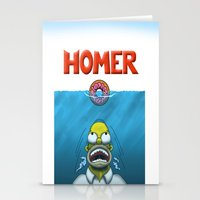homer Stationery Cards featuring HOMER by BC Arts