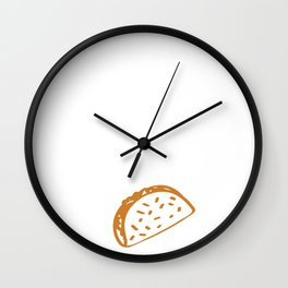 Cinco De Mayo As For Me and My House We Will Serve Tacos Guac 24 7 Wall Clock