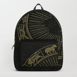 Astrology Book Cover Backpack