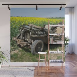 Willys MB Jeep Wall Mural