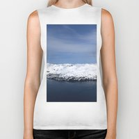 alaska Biker Tanks featuring Whitter, Alaska by Chris Root