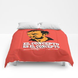 The concept is the concept Comforters