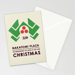 Nakitomi Plaza - Action movie Christmas Stationery Cards