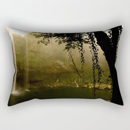 Jungle morning Rectangular Pillow
