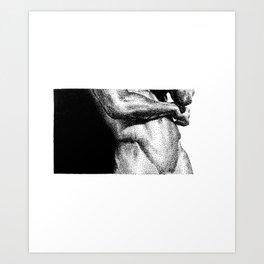 Joe - Nood Dood Art Print
