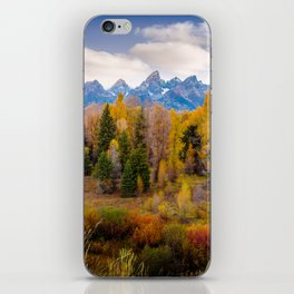Autumn Glow at Grand Teton National Park iPhone Skin