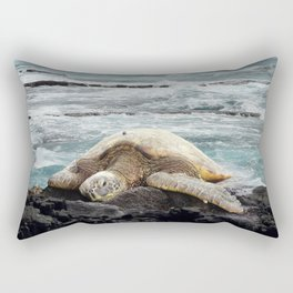 Hawaiian Honu - Sea Turtle Rectangular Pillow