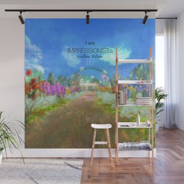 IMPRESSIONISTa Water Lilies Wall Mural