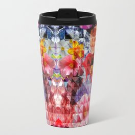 Crystal Floral Travel Mug
