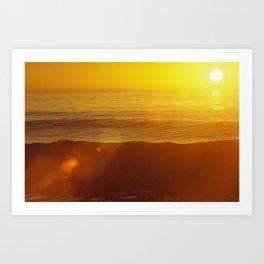Ocean Sunrise II Art Print