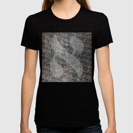 Hebrew Letter Aleph Torah Scroll Art T-shirt