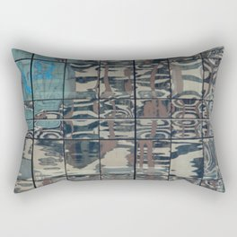Reflections of Steel NYC 212-1 Rectangular Pillow