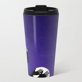 the fortune teller Metal Travel Mug