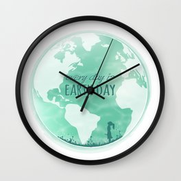 Every Day Is Earth Day - 04 Wall Clock