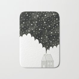 House in the Night Bath Mat