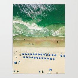 Aerial Beach 2 Poster