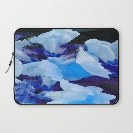 Blue Snapdragons Flower Abstract Laptop Sleeve