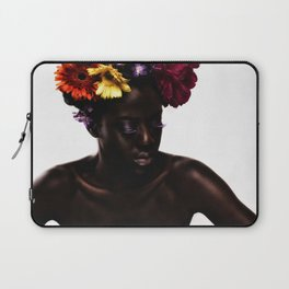 Floral Afro Laptop Sleeve