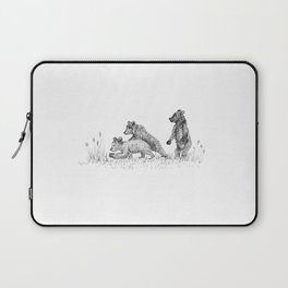 3 Cute Bears Laptop Sleeve