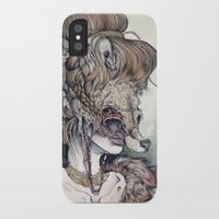 scary iPhone & iPod Cases featuring Vulpes Masquerade, now as a print! by Caitlin Hackett