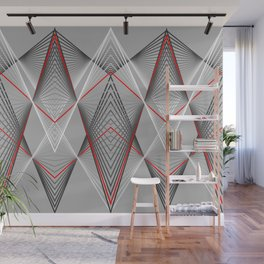 Hectic movement Wall Mural