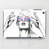 iggy azalea iPad Cases featuring Iggy Azalea 2 by Tiffany Taimoorazy