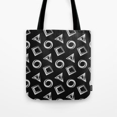 Metallic Shapes Tote Bag