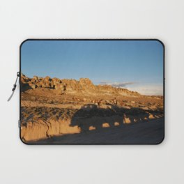 Sunset with shades and lamas Laptop Sleeve