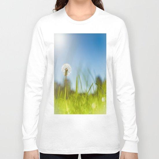 Blue & Green & Dandy Long Sleeve T-shirt