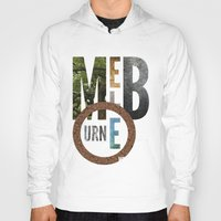 melbourne Hoodies featuring Melbourne by Virbia
