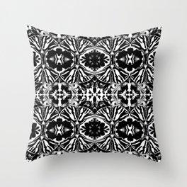 Zebra Butterfly Pattern Throw Pillow