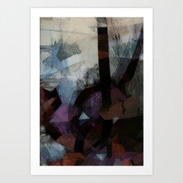 disquiet twenty four (i overcome) Art Print