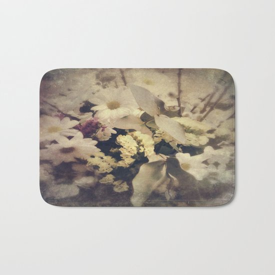 Flowers of Nostalgia Bath Mat