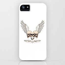 Fortune Favors The Brave iPhone Case