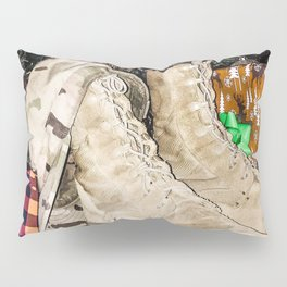 Explore the World Pillow Sham
