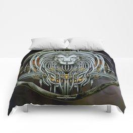 """""""Astrological Mechanism - Leo"""" Comforters"""