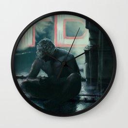 tears in the rain Wall Clock