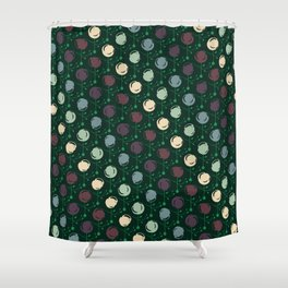 Forest Pattern Shower Curtain