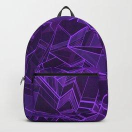 Geo Tactic 2, Violet Backpack