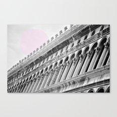 Venetian facade Canvas Print