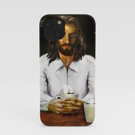 Coffee With Jesus iPhone Case