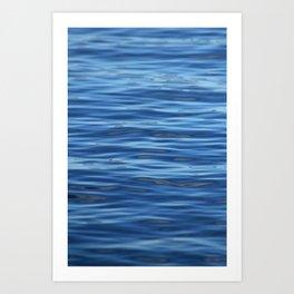Sea , only Sea 075 Art Print