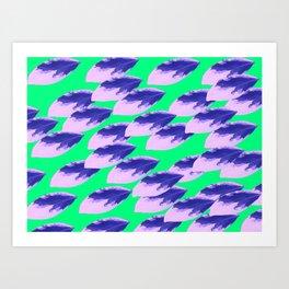 The Limeade Leaves Art Print